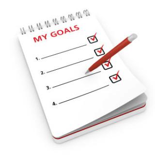 följa upp mål